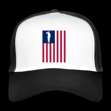 America Patriot - Trucker Cap