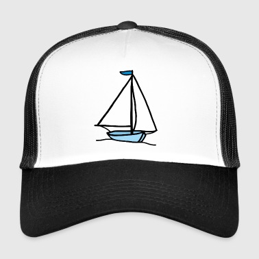 Sailing Regatta zeilboot - Trucker Cap