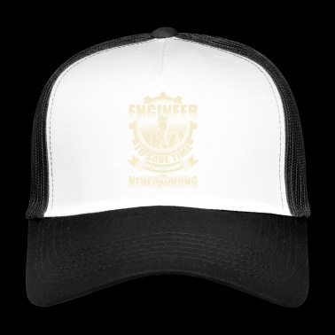 Engineer technician civil engineer computer gift - Trucker Cap