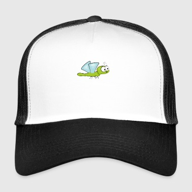 libel kleurrijke kinder insect fierfly Dragon Comic cu - Trucker Cap