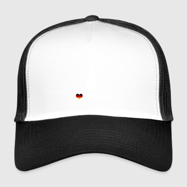 I love Berlin Fun paita - Trucker Cap