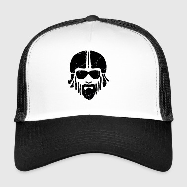 Biker - Black - Trucker Cap