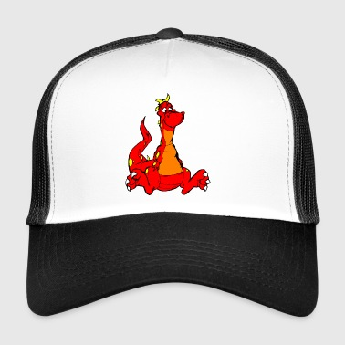 Red Dragon Gift Idea - Trucker Cap