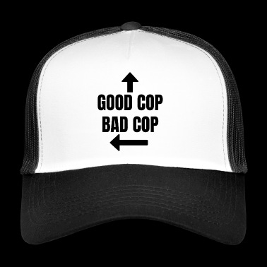 Good cop, bad cop Fun Fun Police - Trucker Cap