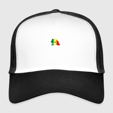 Flag Sénégal - Trucker Cap