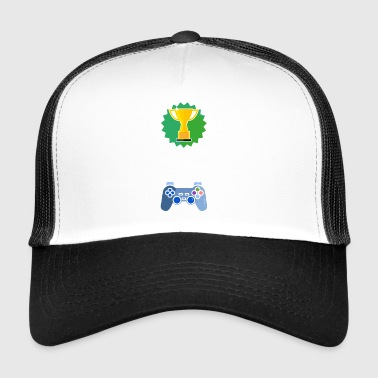 Niveau Unlocked skole gamer gaming gave - Trucker Cap
