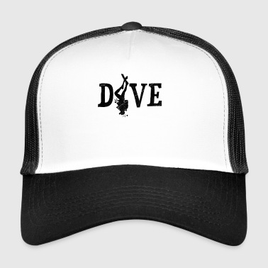 Dive. - Trucker Cap