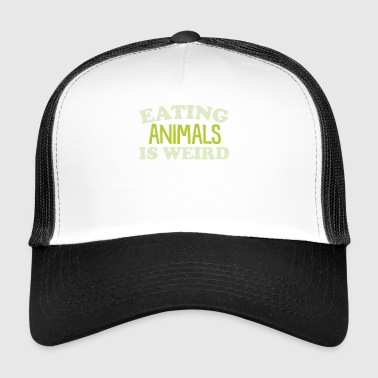Eating Animals Weird Shirt - Trucker Cap