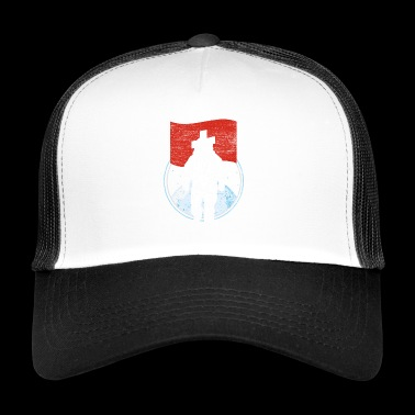 swiss flag - Trucker Cap