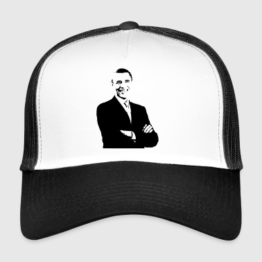 Barack Obama (Black print) - Trucker Cap