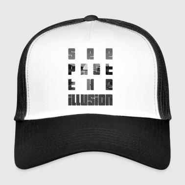 Se förbi illusion design av KylaCher Studio - Trucker Cap