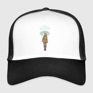 rain woman - Trucker Cap