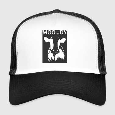 Cow / Farm: Moo ... Dy - Trucker Cap