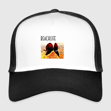 Beach Life Shell vie - Trucker Cap