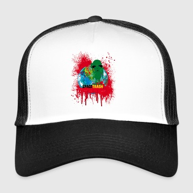 Sad Alien - Trucker Cap