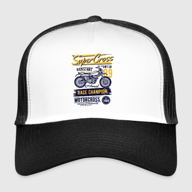 Super Cross2 - Trucker Cap