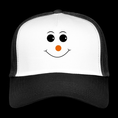 Smiley avec le nez rouge - Trucker Cap