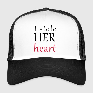 And HER heart table - Trucker Cap