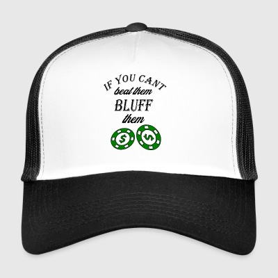 if you cant beat them - Trucker Cap
