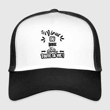 Le virus du bridge cadeau - Trucker Cap