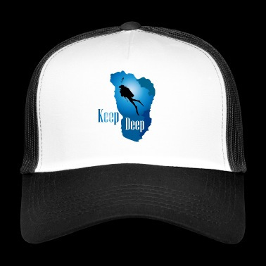 Keep Deep - Trucker Cap
