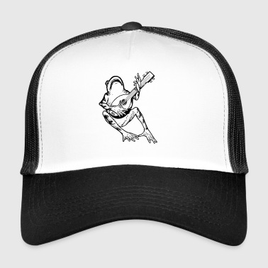 FrogWithGuitar - Trucker Cap