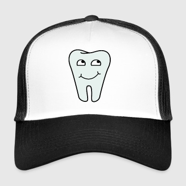 Dental office logo tooth - Trucker Cap