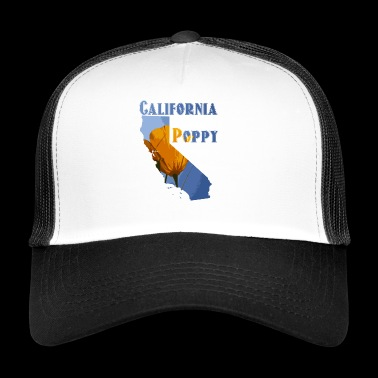 California Poppy - Trucker Cap