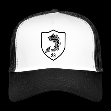 grenoble, dolphin blazon 38 - Trucker Cap