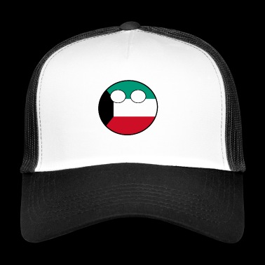 Countryball Country Home Kuwait - Trucker Cap