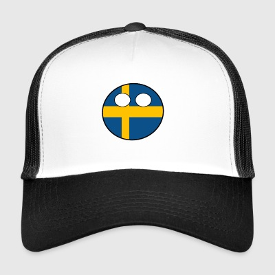 Country bal Land geboorteland Zweden - Trucker Cap