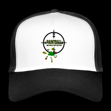 Paintball Sniper - Trucker Cap