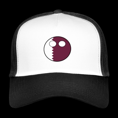 Countryball Country Home Qatar - Trucker Cap