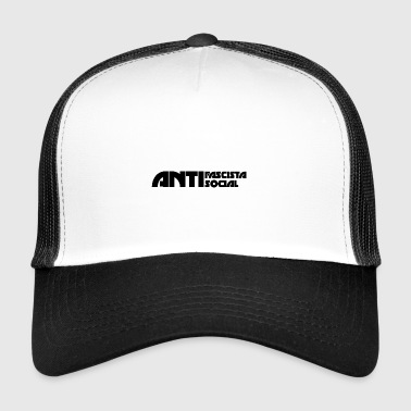 Antifaso_svart - Trucker Cap