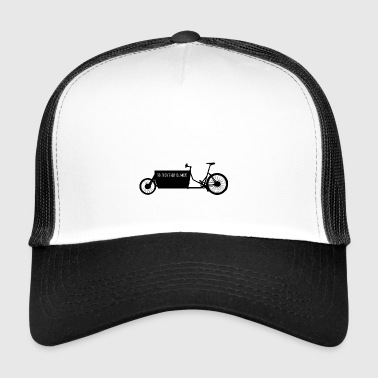 Moving with cargo bike - Trucker Cap
