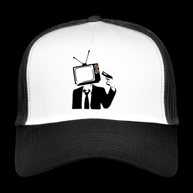 Televisio on POOP - Trucker Cap