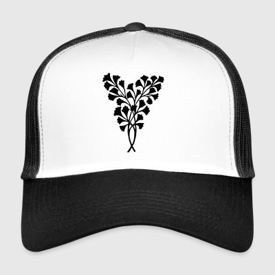 Leaves decoration - Trucker Cap
