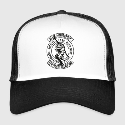 Skate And Destroy - Trucker Cap