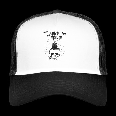 Trick or treat kallon - Trucker Cap
