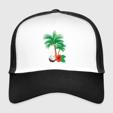 Caribbean flair - Trucker Cap