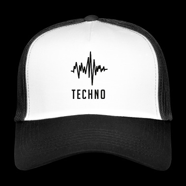 Techno Soundwave - Trucker Cap
