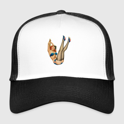 Marine la pin up - Trucker Cap