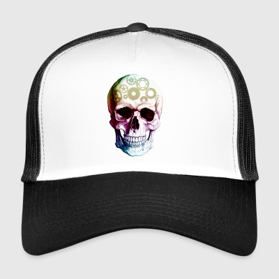 Skull with gears - Trucker Cap