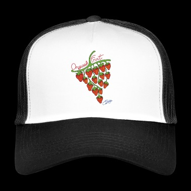 Fraguva, unusual fruit strawberries and grapes - Trucker Cap