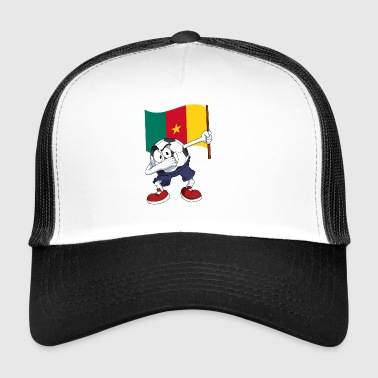 Cameroon Dabbing football - Trucker Cap