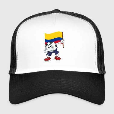 Colombie tamponnant Football - Trucker Cap