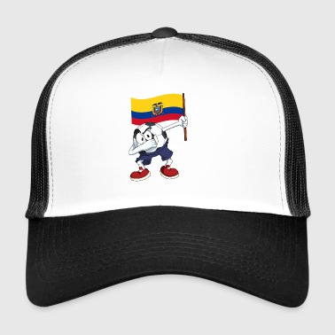 Equateur tamponnant Football - Trucker Cap