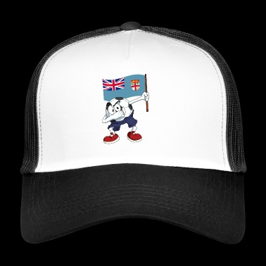 Fiji Dabbing football - Trucker Cap