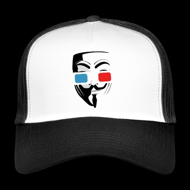 3D cinema glasses mask - Trucker Cap