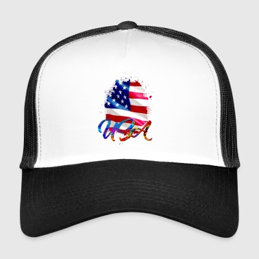 USA - USA - Trucker Cap